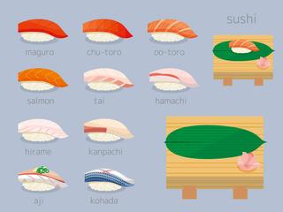 お寿司いろいろセット01