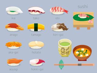 お寿司いろいろセット02