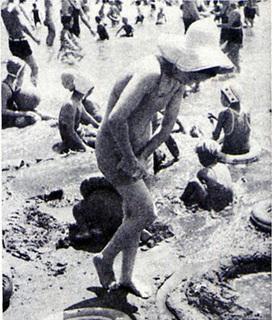 昭和10年の海水浴06