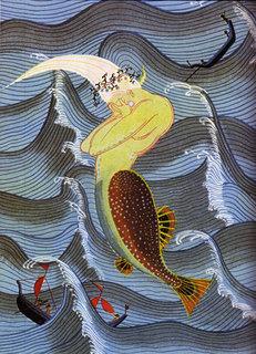 赤い蝋燭と人魚