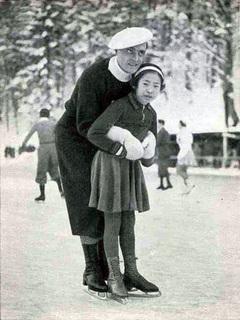 稲田悦子選手とカール・シェーファー
