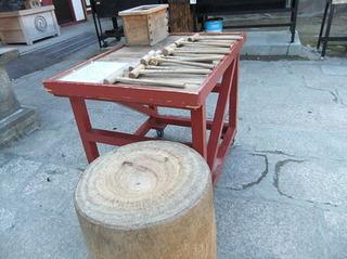 四天王寺 木槌たたき 現代