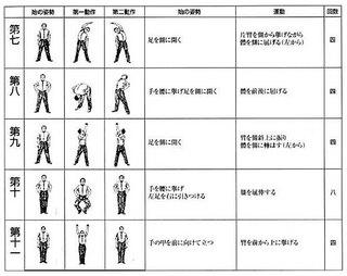 ラジオ体操第一02