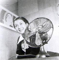 芝浦電気扇と原節子04