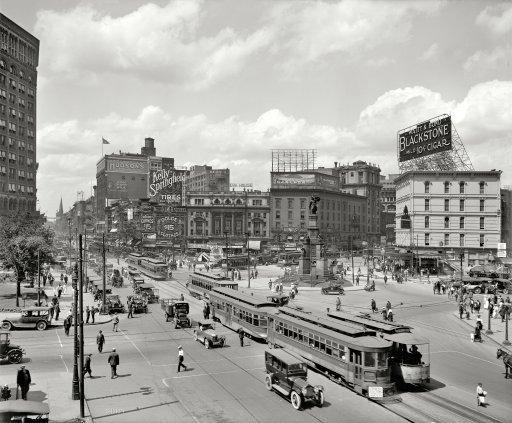 The Motor City 1917